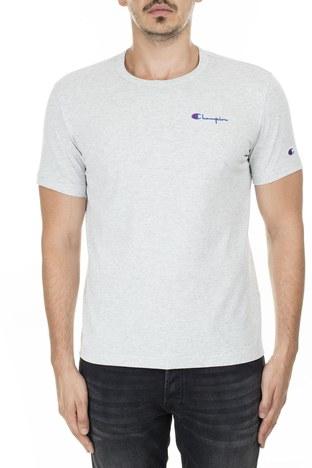Champion - Champion Erkek T Shirt 211985 EM004 LOXGM AÇIK GRİ