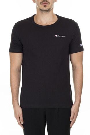 Champion Bisiklet Yaka Erkek T Shirt 211985 KK001 NBK SİYAH