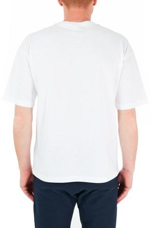 Champion - Champion Erkek T Shirt 216428 WHT WW06 BEYAZ (1)