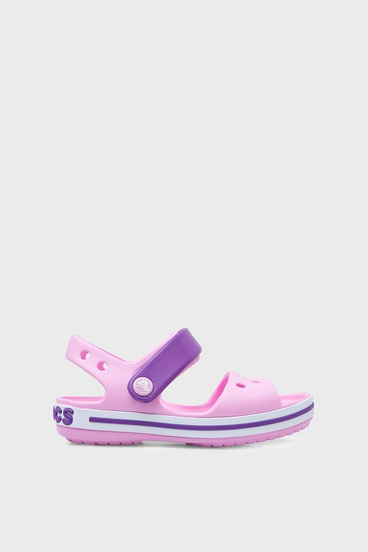 Crocs Crocband Çocuk Sandalet 12856-6AI PEMBE