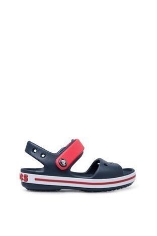 Crocs - Crocs Crocband Çocuk Sandalet 12856-485 LACİVERT