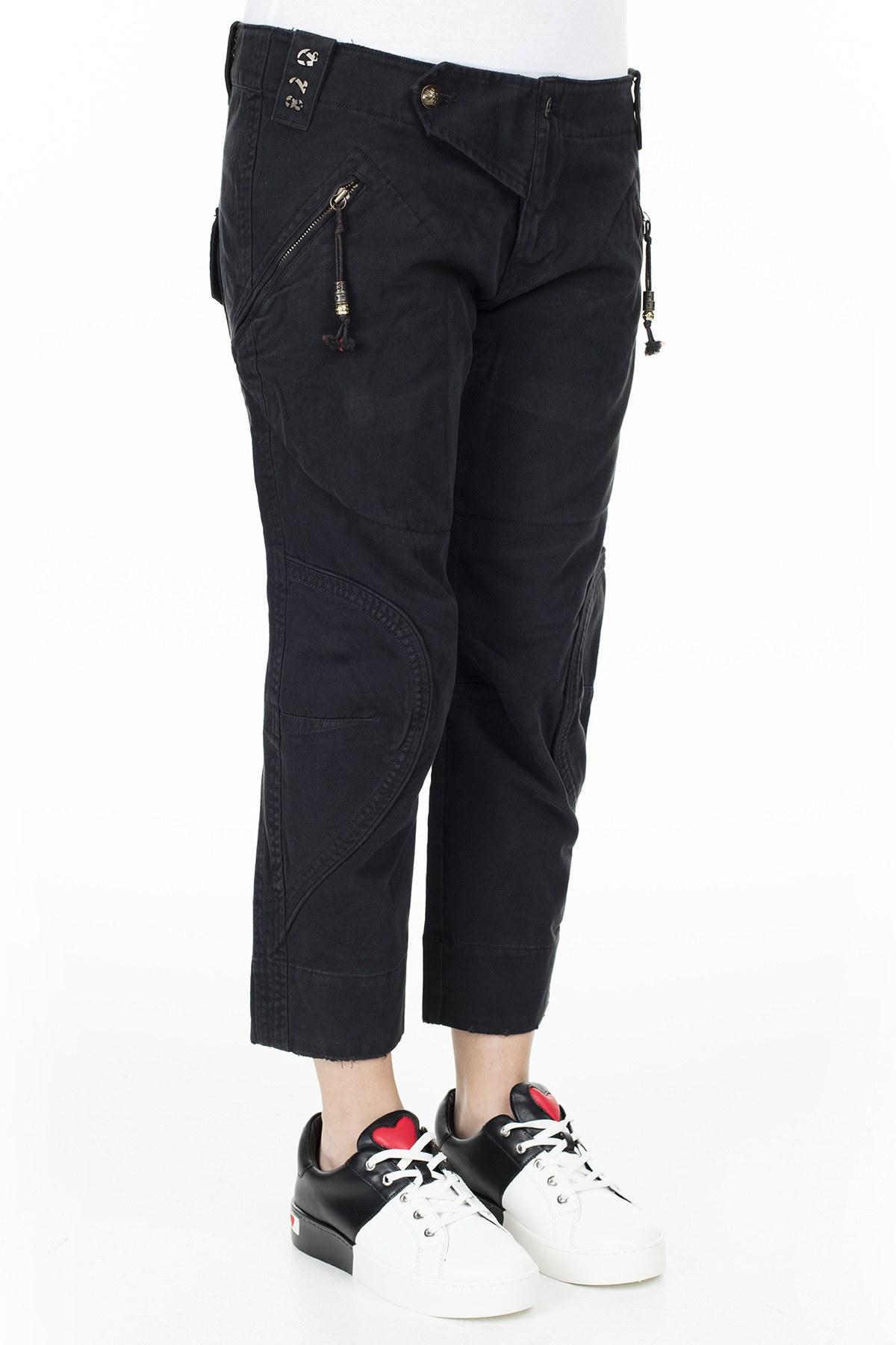 Diesel Jeans Bayan Kot Pantolon ZOXAASYHBY SİYAH