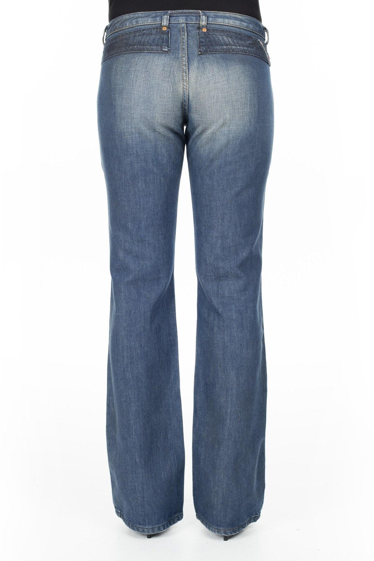 Diesel Jeans Bayan Kot Pantolon ZOXCROSSIM İNDİGO
