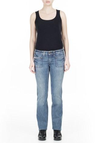 Diesel - Diesel Jeans Kadın Kot Pantolon ZOXKEATE LACİVERT