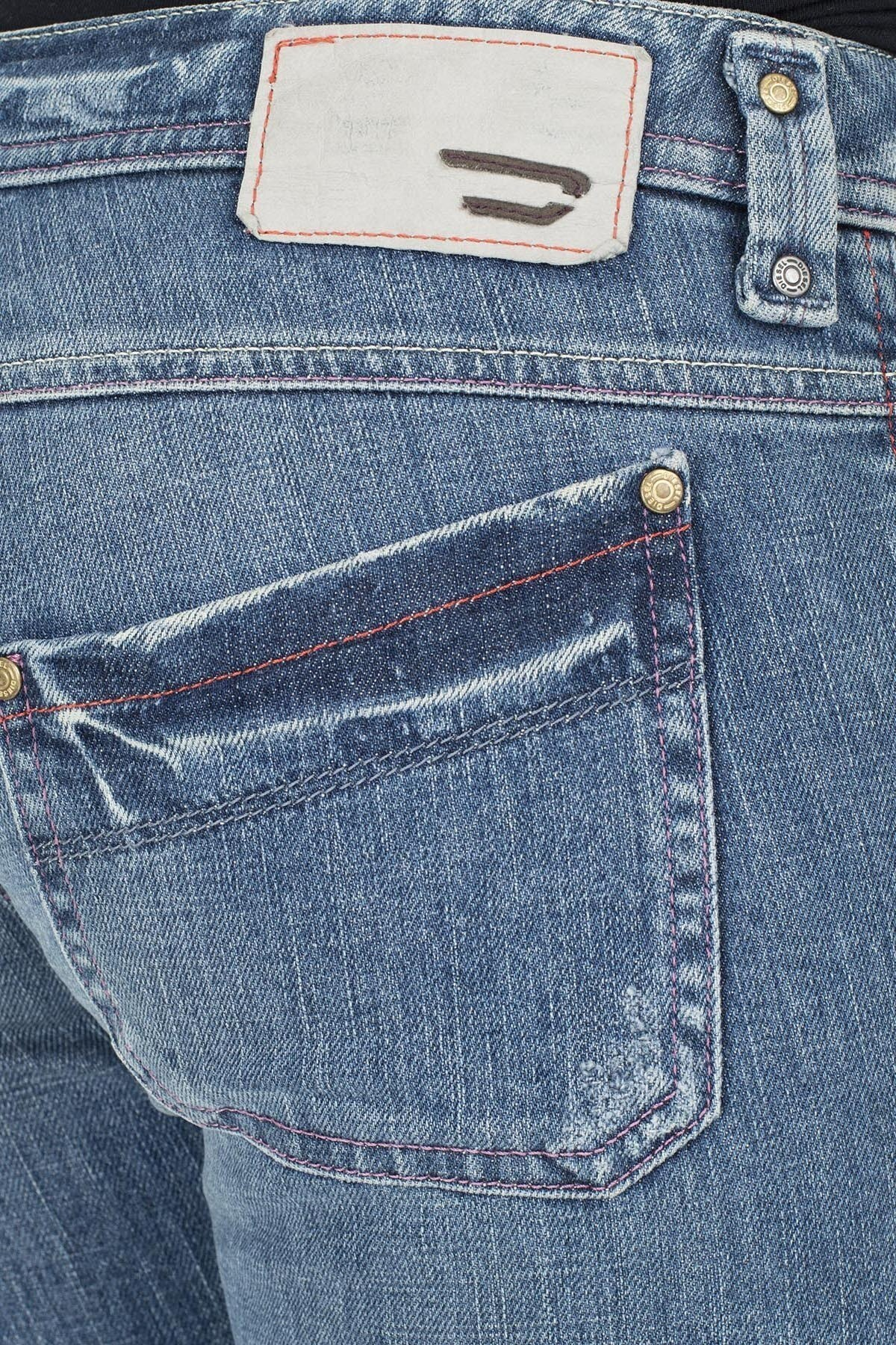 Diesel Jeans Kadın Kot Pantolon ZOXKEATE LACİVERT