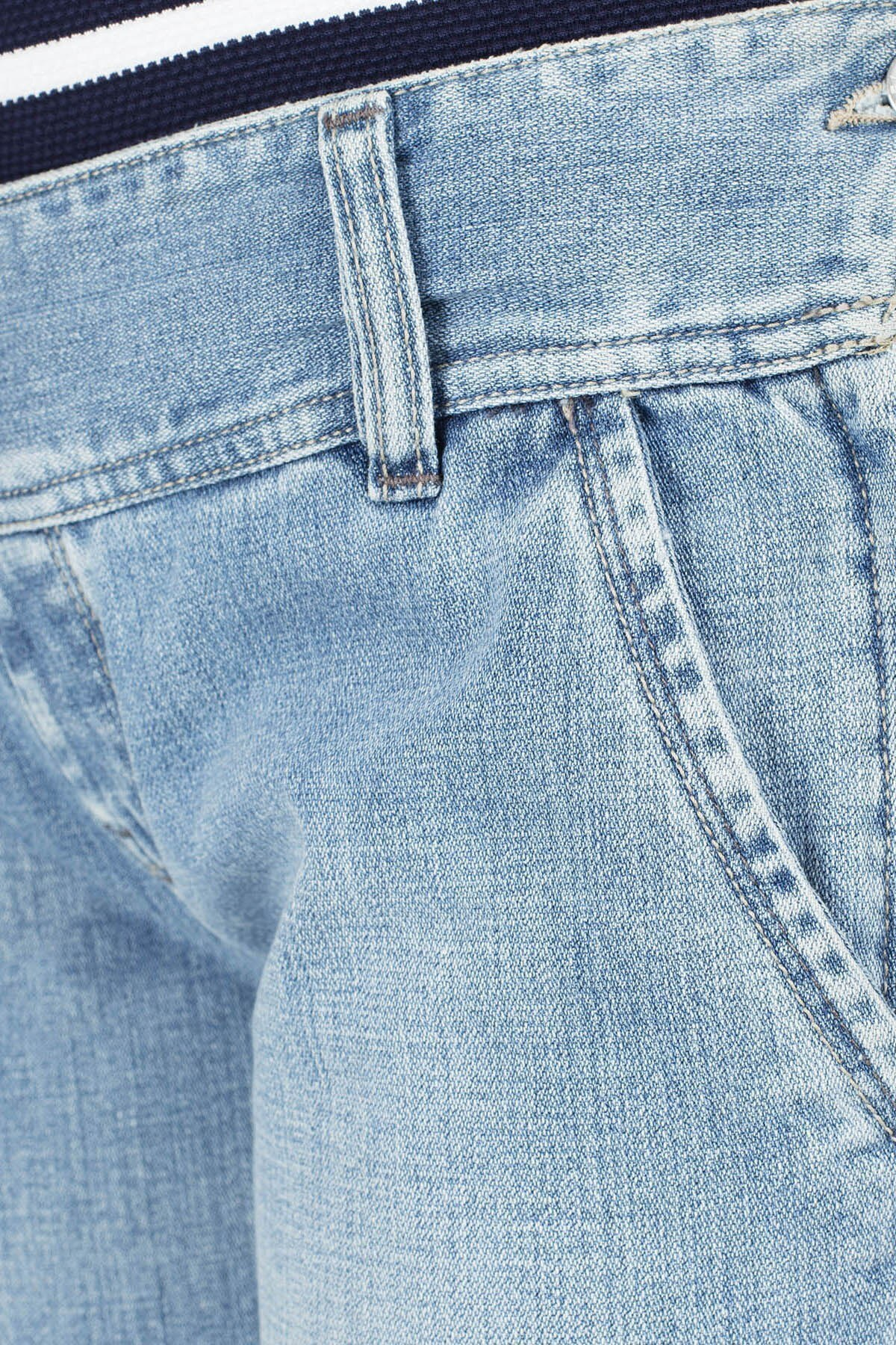 Diesel Jeans Bayan Kot Pantolon ZOXKUR764 MAVİ