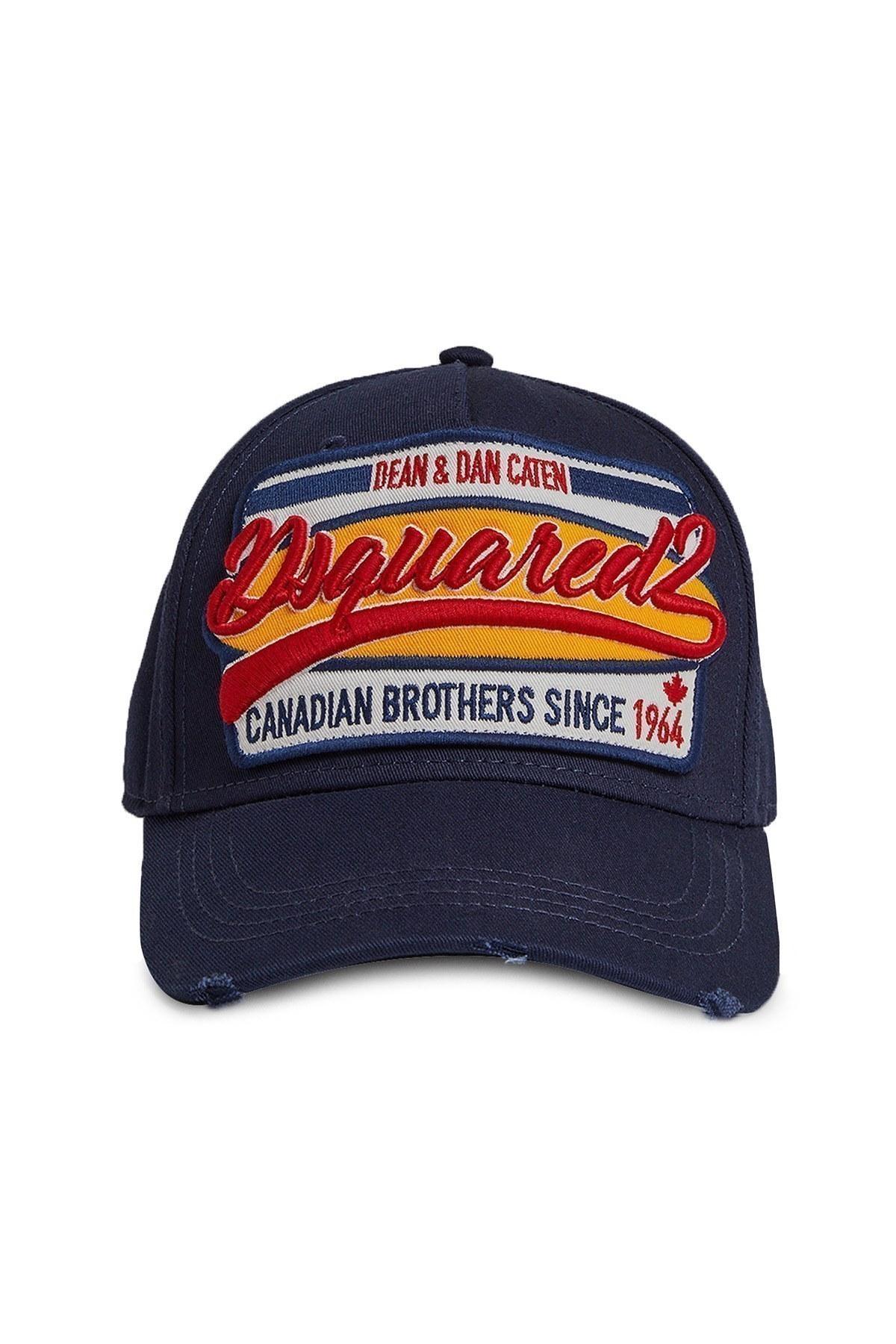 Dsquared2 Erkek Şapka BCM0198 05C00001 3073 LACİVERT