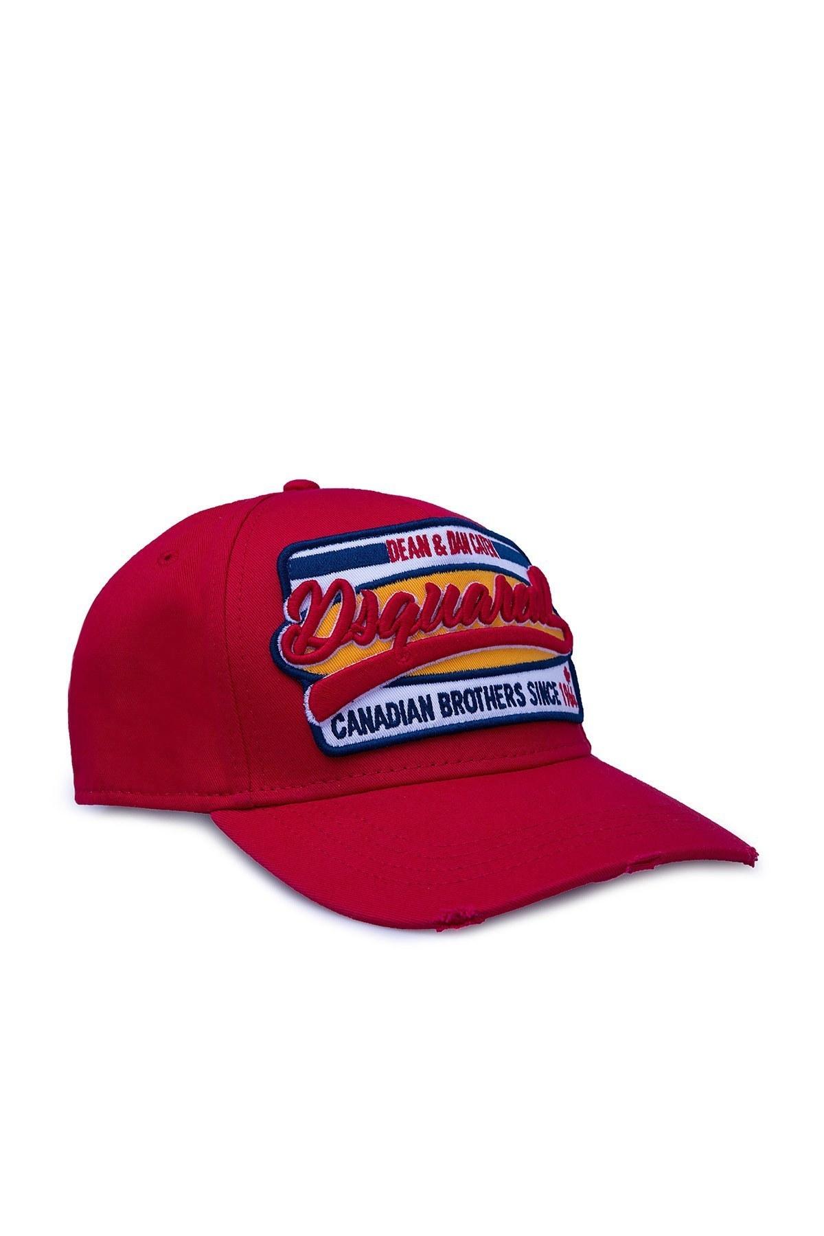 Dsquared2 Erkek Şapka BCM0198 05C00001 4065 KIRMIZI
