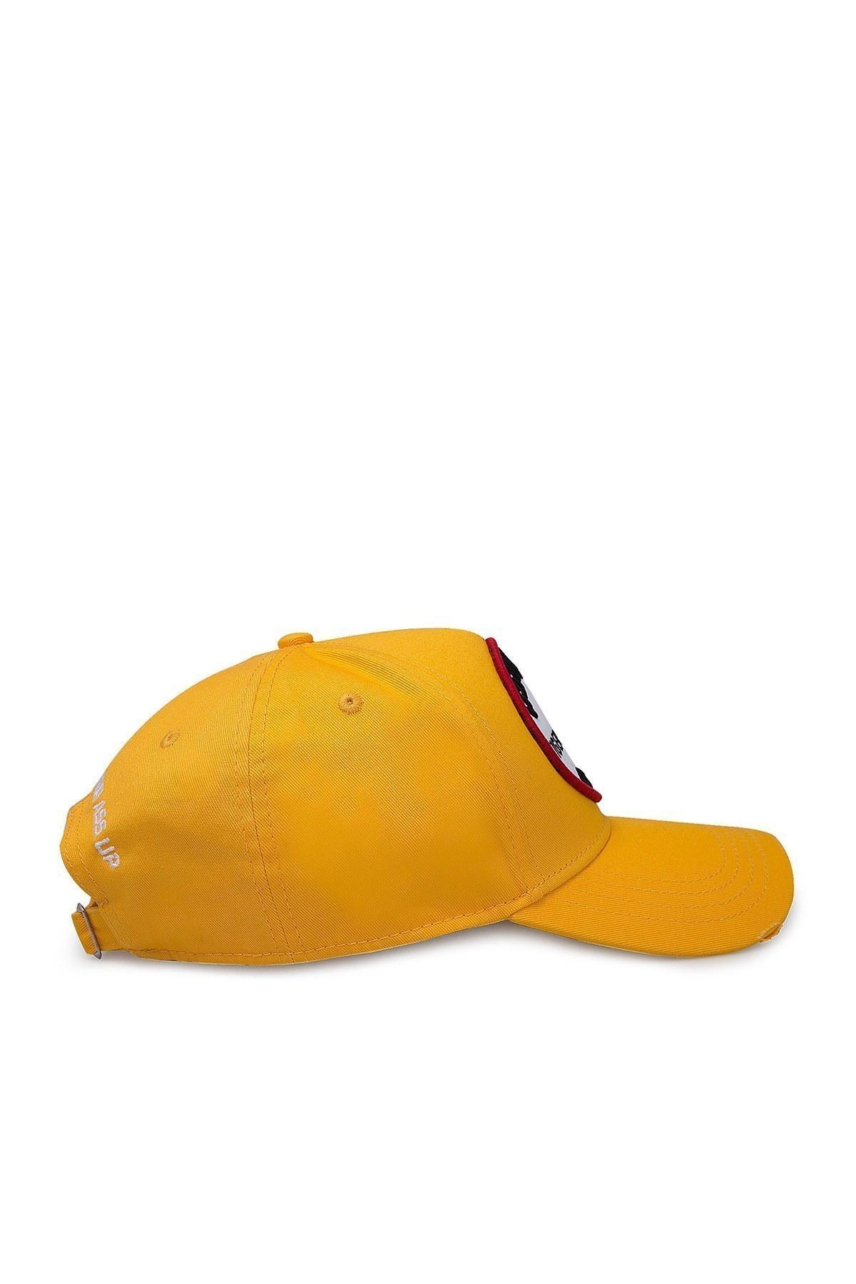 Dsquared2 Erkek Şapka BCM0284 05C00001 7047 SARI