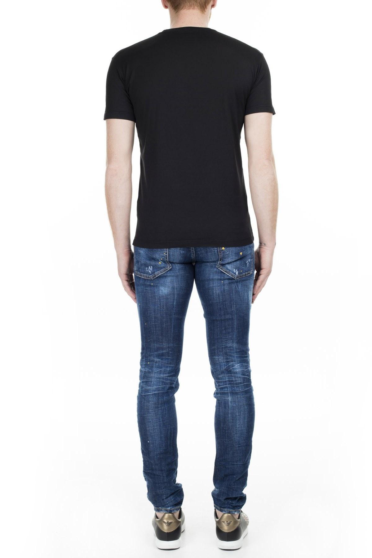 Dsquared2 Jeans Erkek Kot Pantolon S71LB0727 S30342 470 LACİVERT