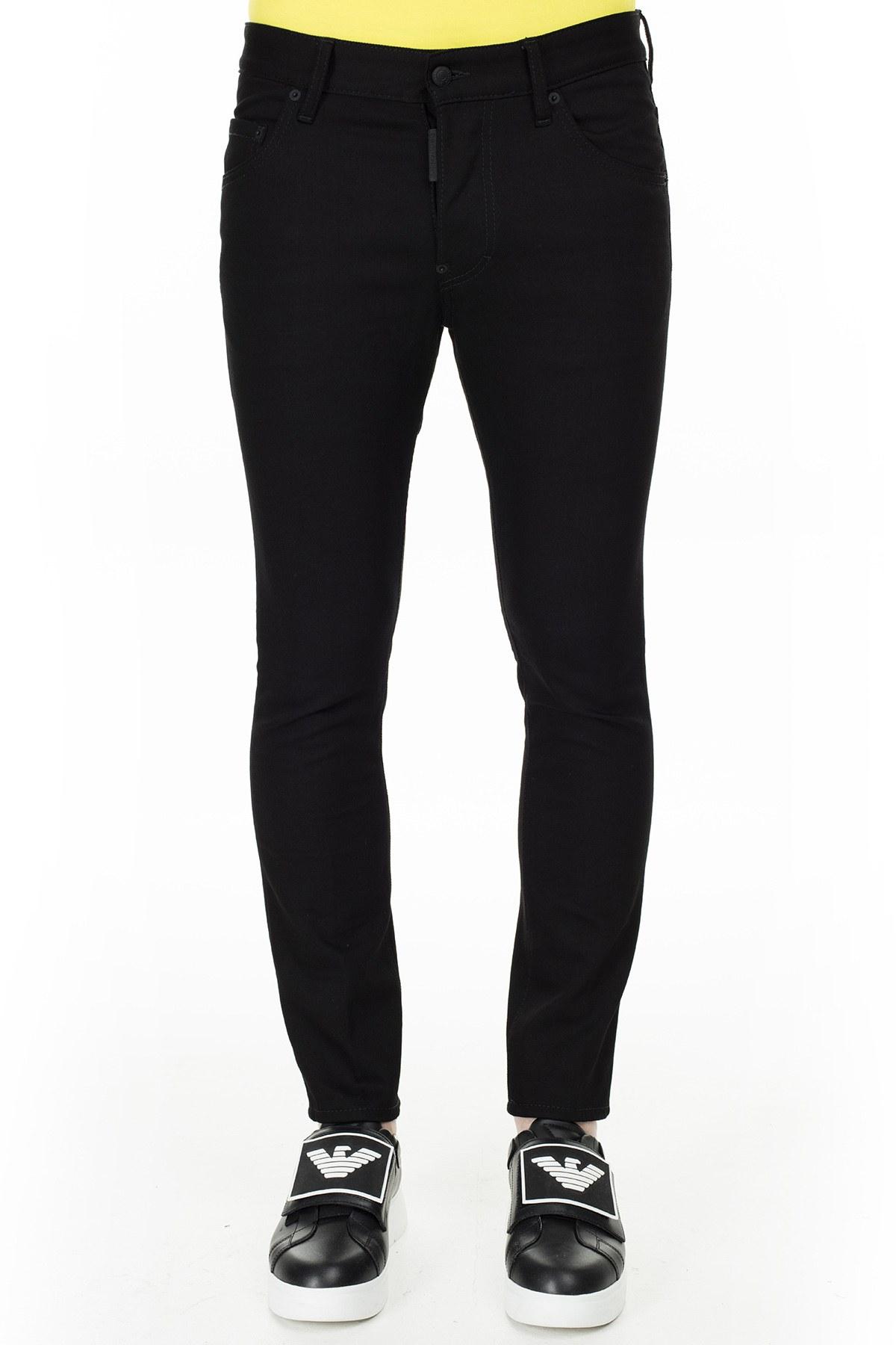 Dsquared2 Jeans Erkek Kot Pantolon S74LB0695 S30564 900 SİYAH