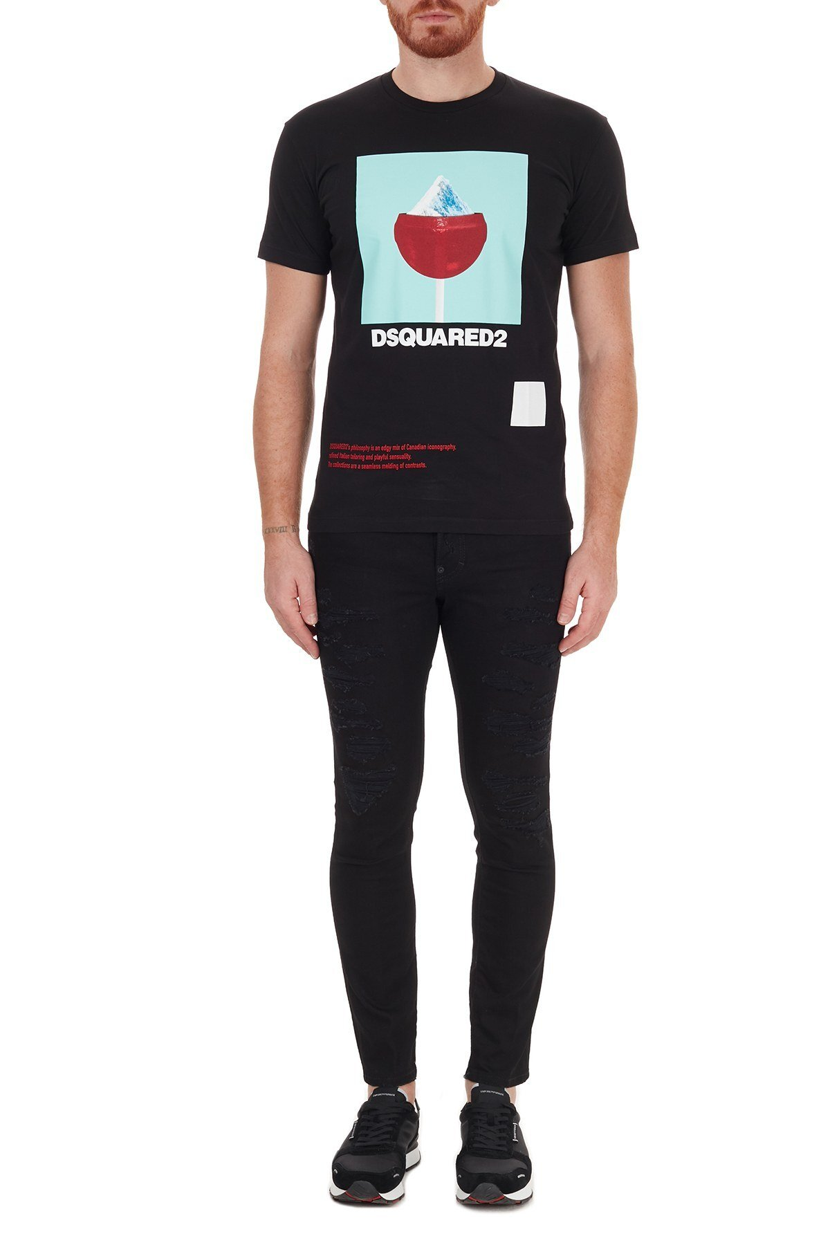 Dsquared2 Jeans Erkek Kot Pantolon S71LB0844 S30602 900 SİYAH