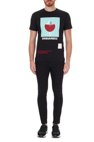 Dsquared2 - Dsquared2 Jeans Erkek Kot Pantolon S71LB0844 S30602 900 SİYAH