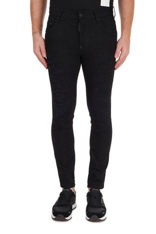 Dsquared2 - Dsquared2 Jeans Erkek Kot Pantolon S71LB0844 S30602 900 SİYAH (1)
