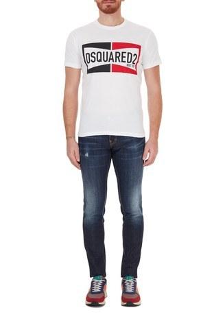 Dsquared2 - Dsquared2 Jeans Erkek Kot Pantolon S74LB0765 S30664 470 LACİVERT