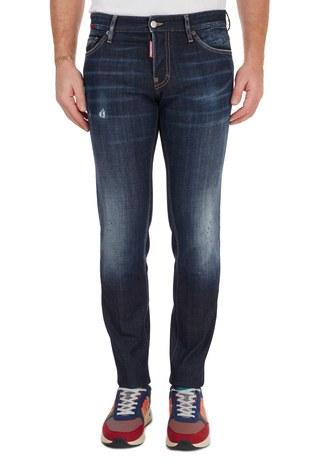 Dsquared2 - Dsquared2 Jeans Erkek Kot Pantolon S74LB0765 S30664 470 LACİVERT (1)
