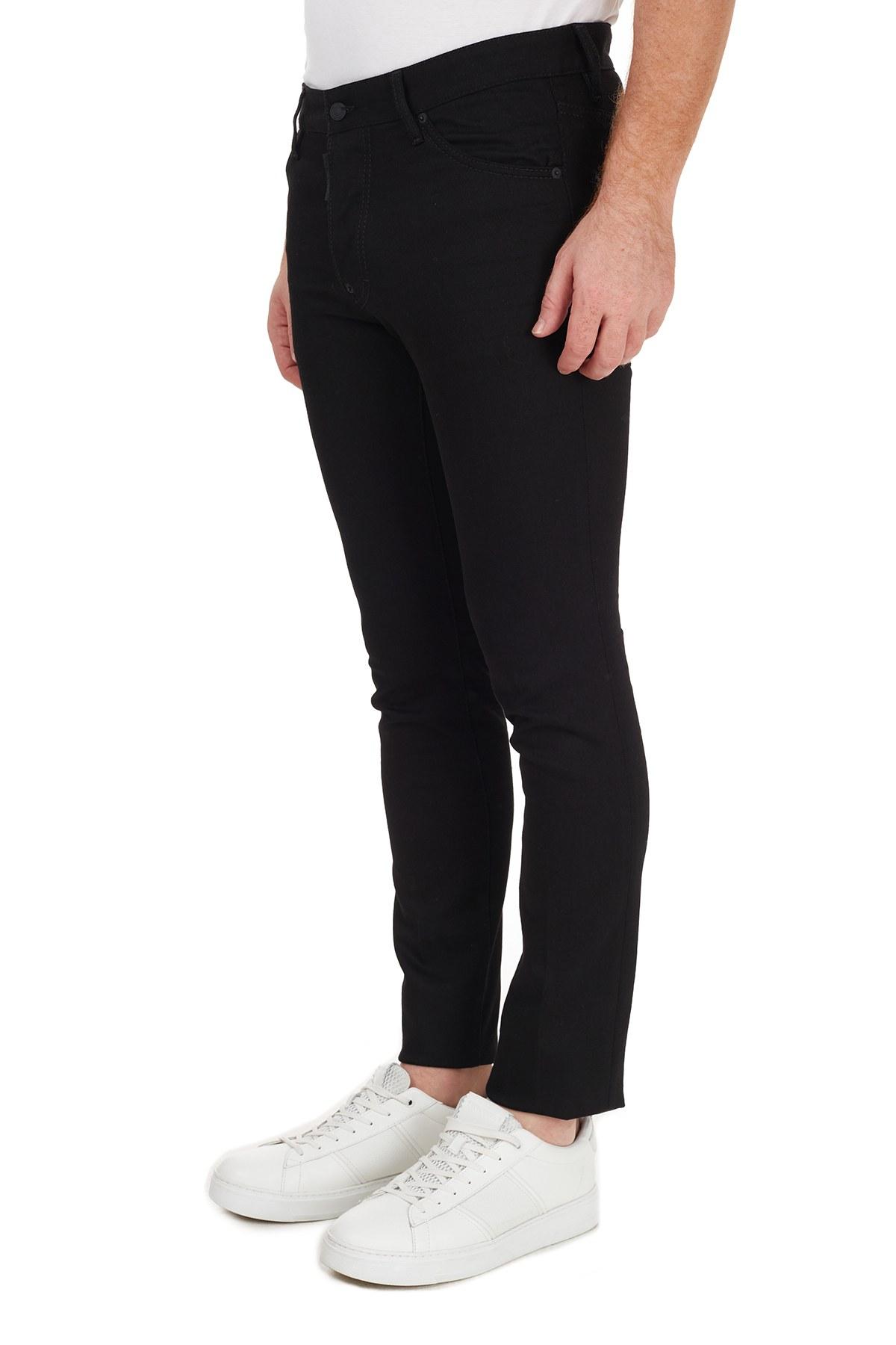 Dsquared2 Jeans Erkek Kot Pantolon S74LB0779 S30564 900 SİYAH