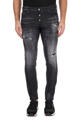 Dsquared2 - Dsquared2 Jeans Erkek Kot Pantolon S74LB0784 S30357 900 SİYAH (1)