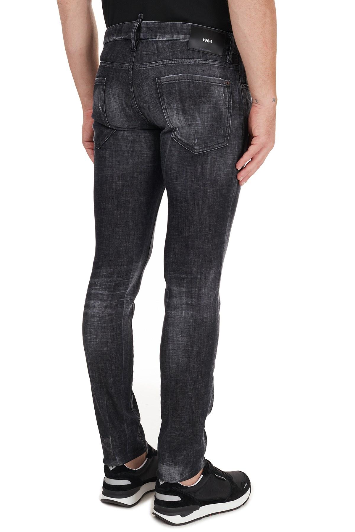 Dsquared2 Jeans Erkek Kot Pantolon S74LB0784 S30357 900 SİYAH