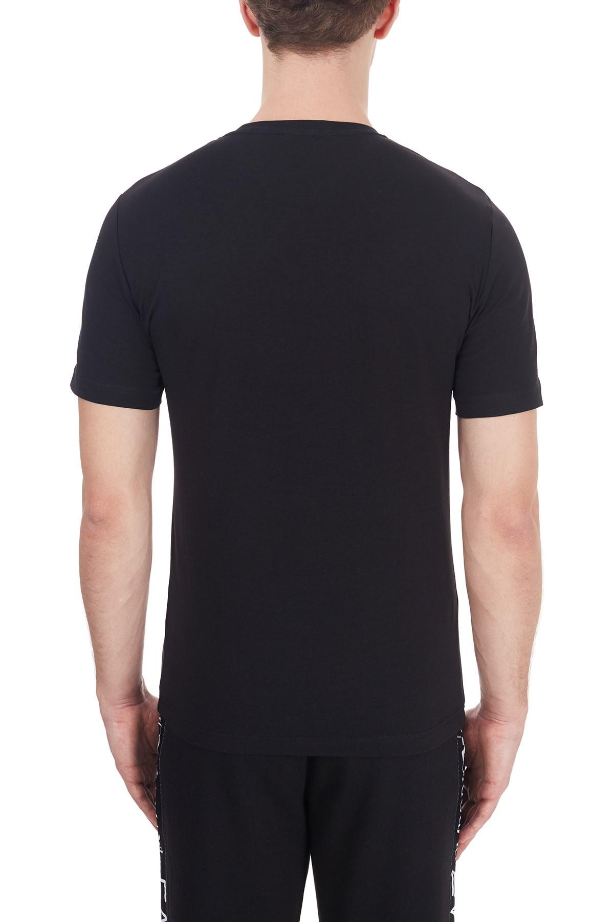 EA7 Erkek T Shirt 6HPT31 PJ3NZ 1200 SİYAH