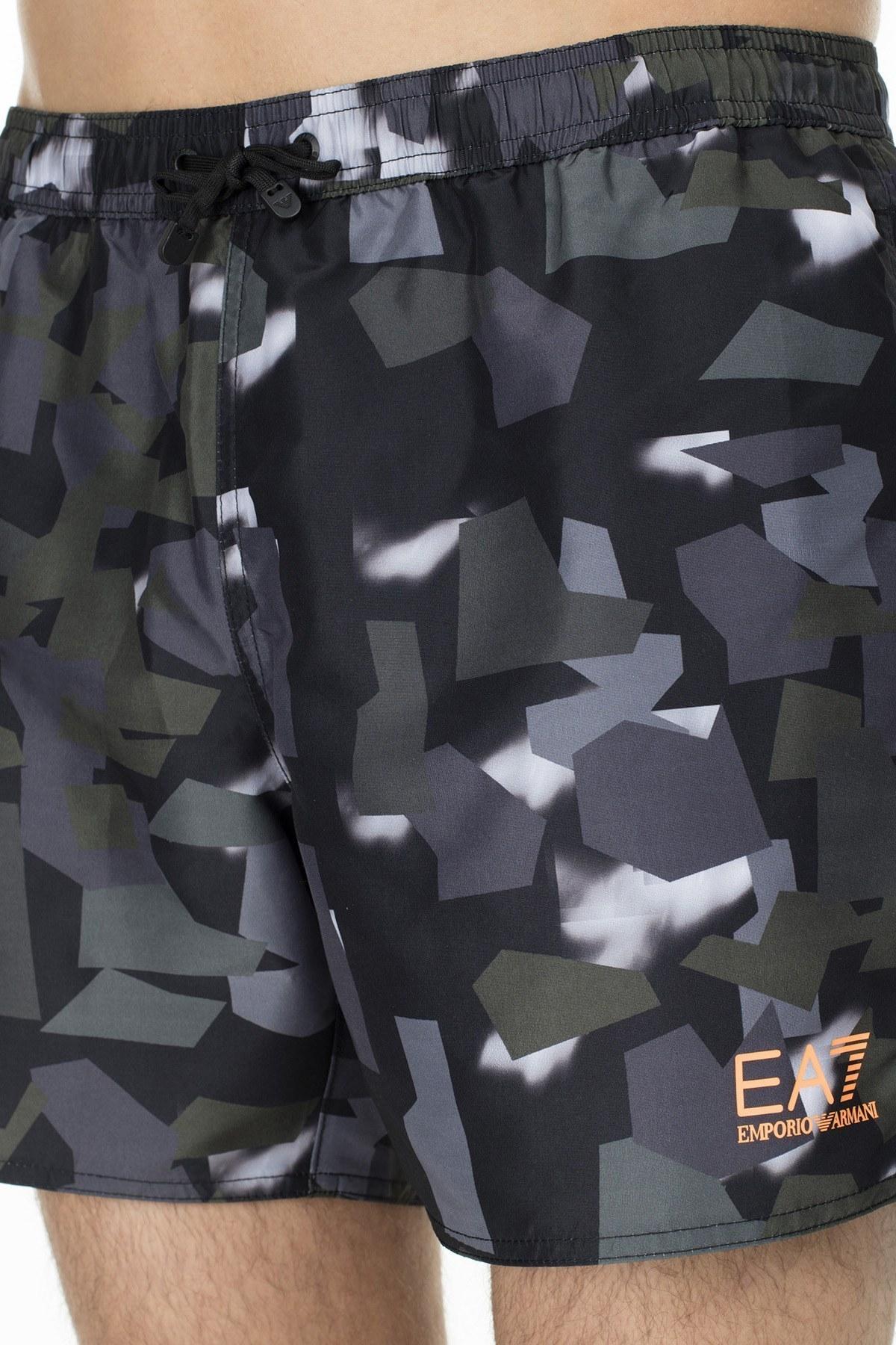 EA7 Erkek Mayo Short S 902000 9P742 61720 SİYAH
