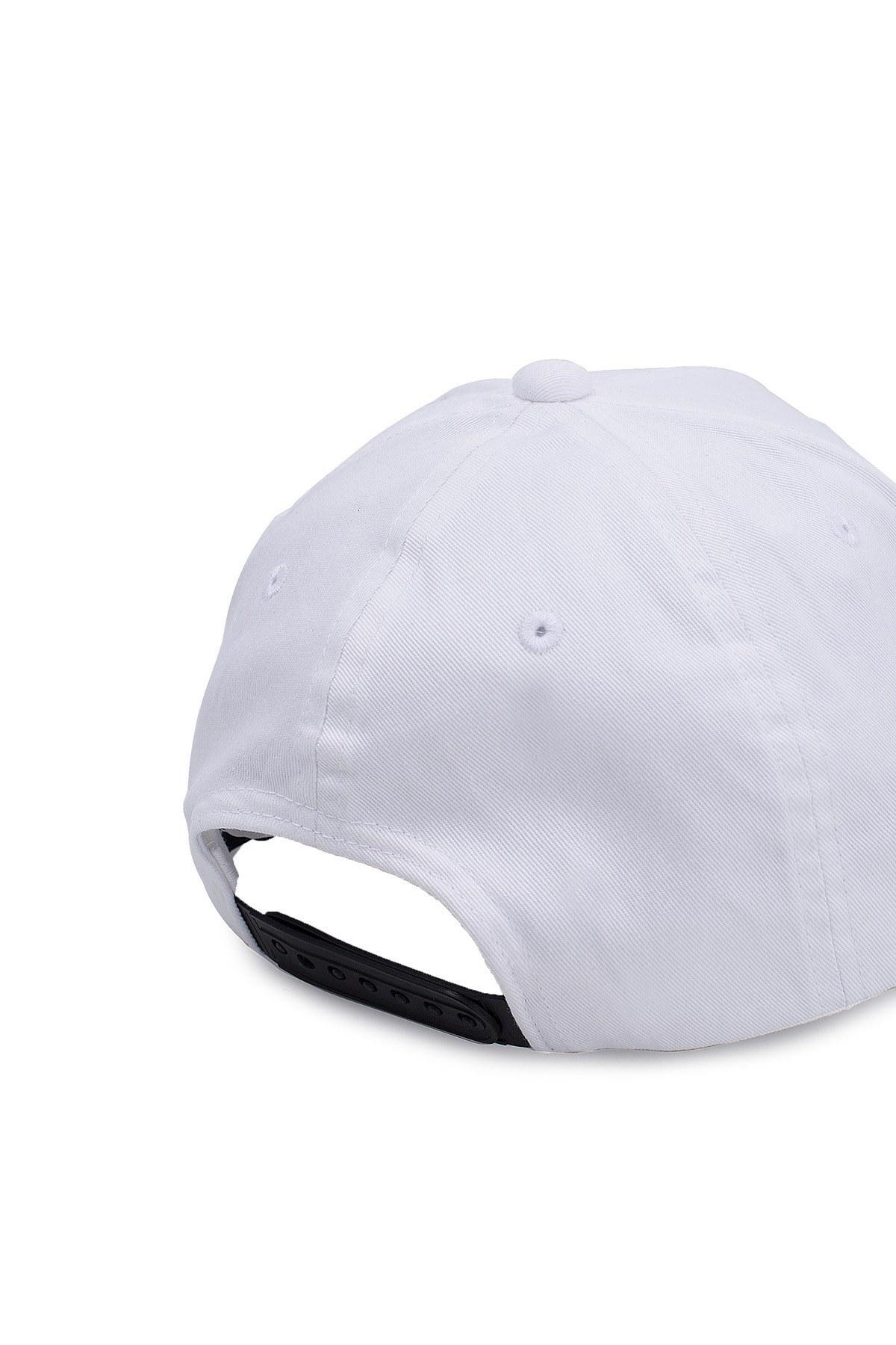 EA7 Erkek Şapka S 275868 9P510 00010 BEYAZ