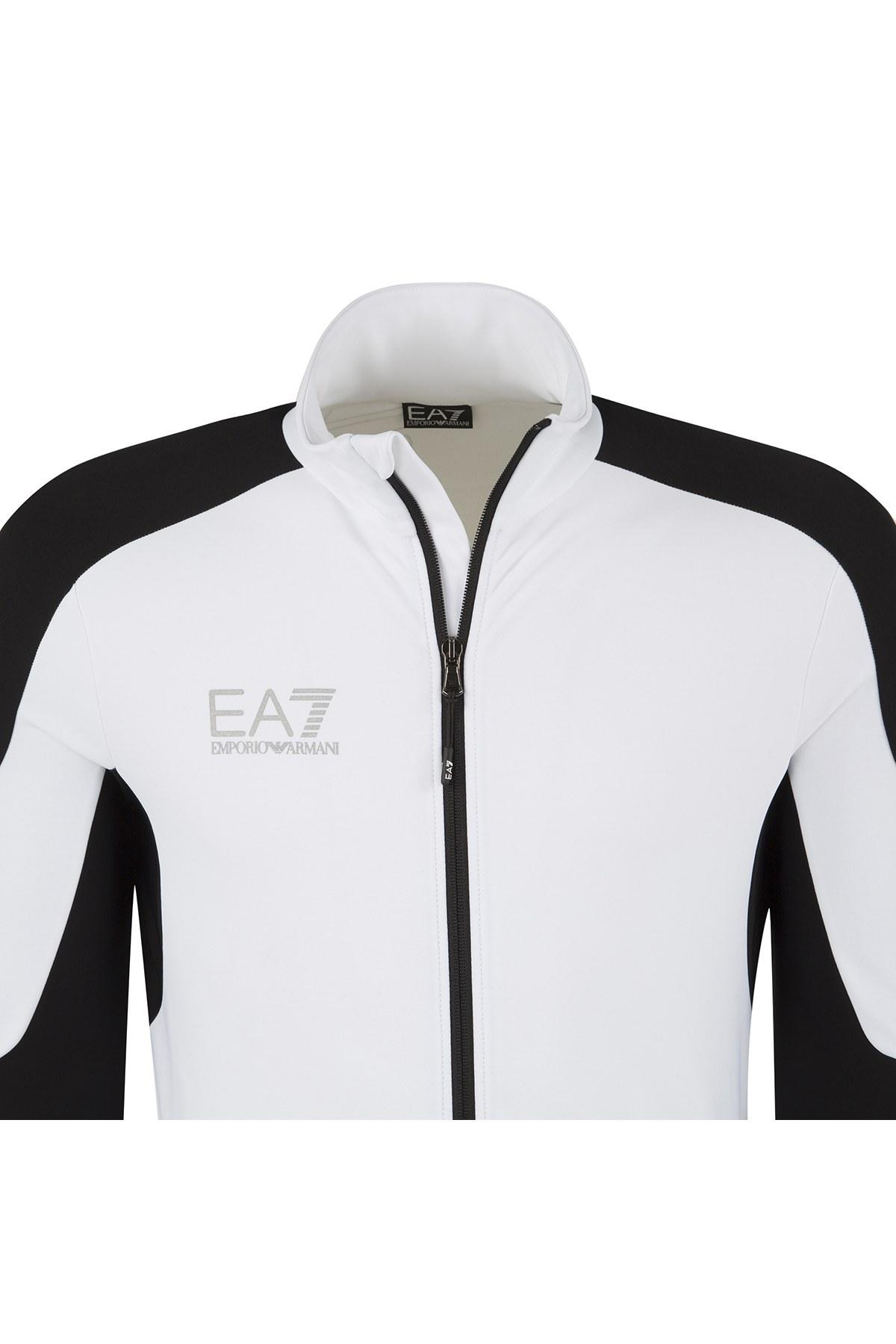 EA7 Erkek Sweat 6YPMC3 PJ35Z 1100 BEYAZ