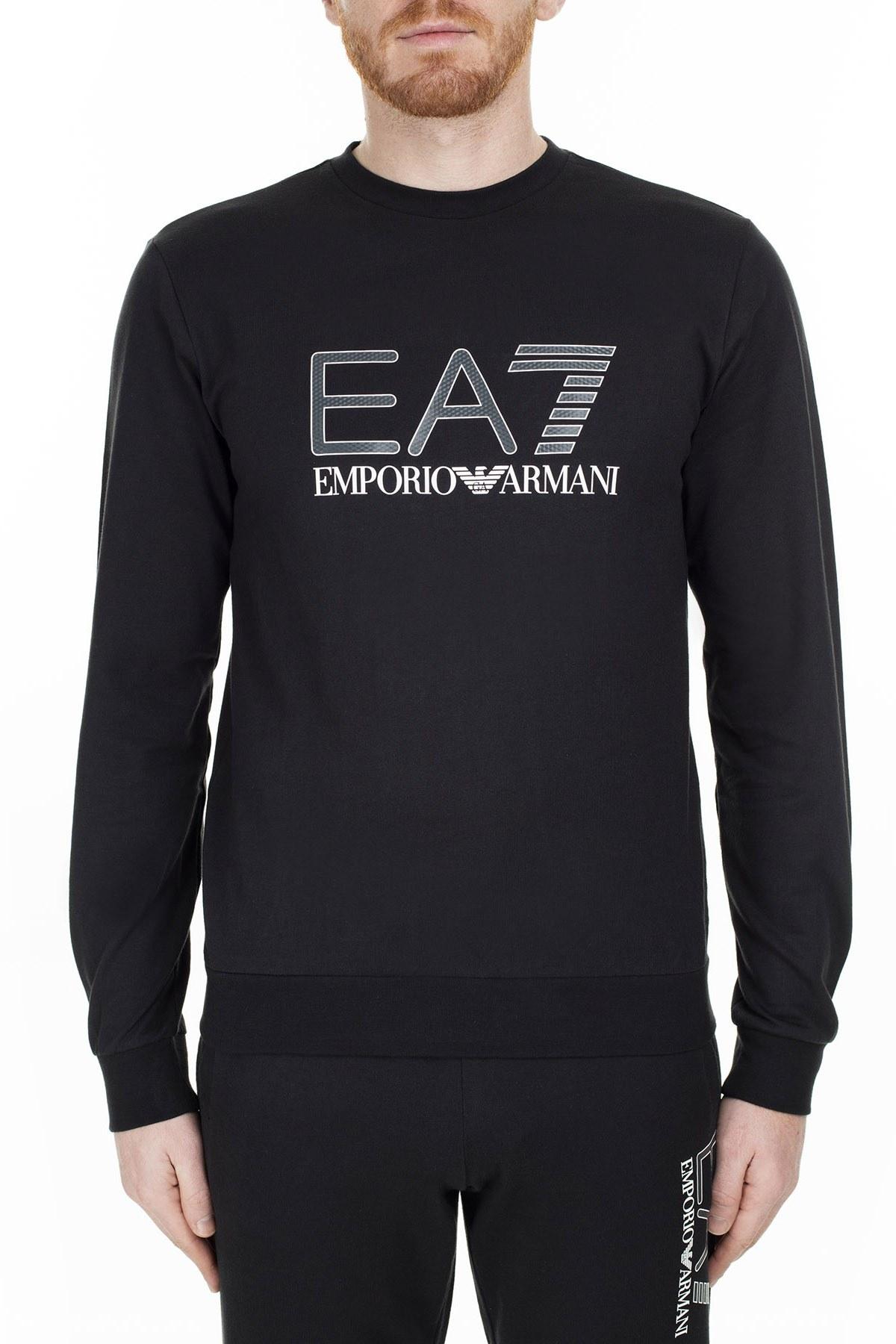 EA7 Erkek Sweat S 3GPM14 PJ05Z 1200 SİYAH
