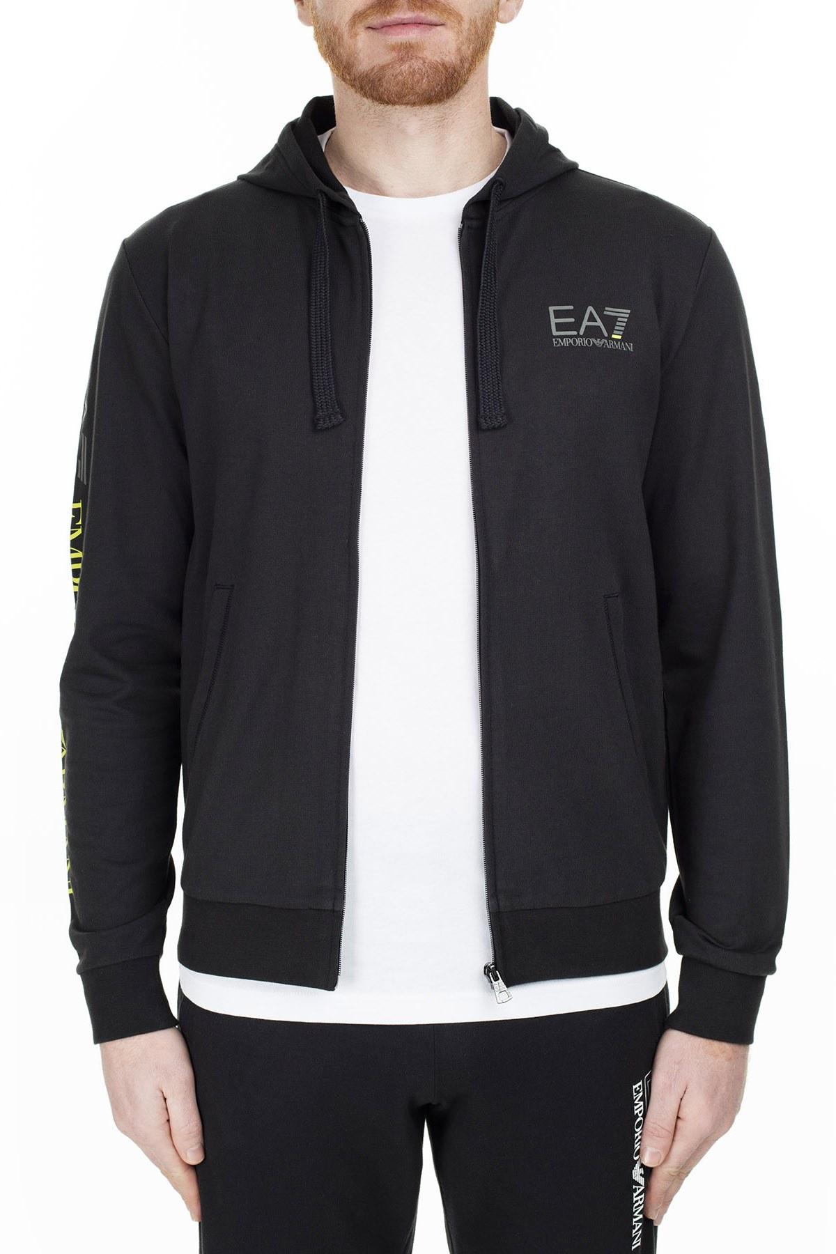 EA7 Erkek Sweat S 3GPM24 PJ05Z 1200 SİYAH