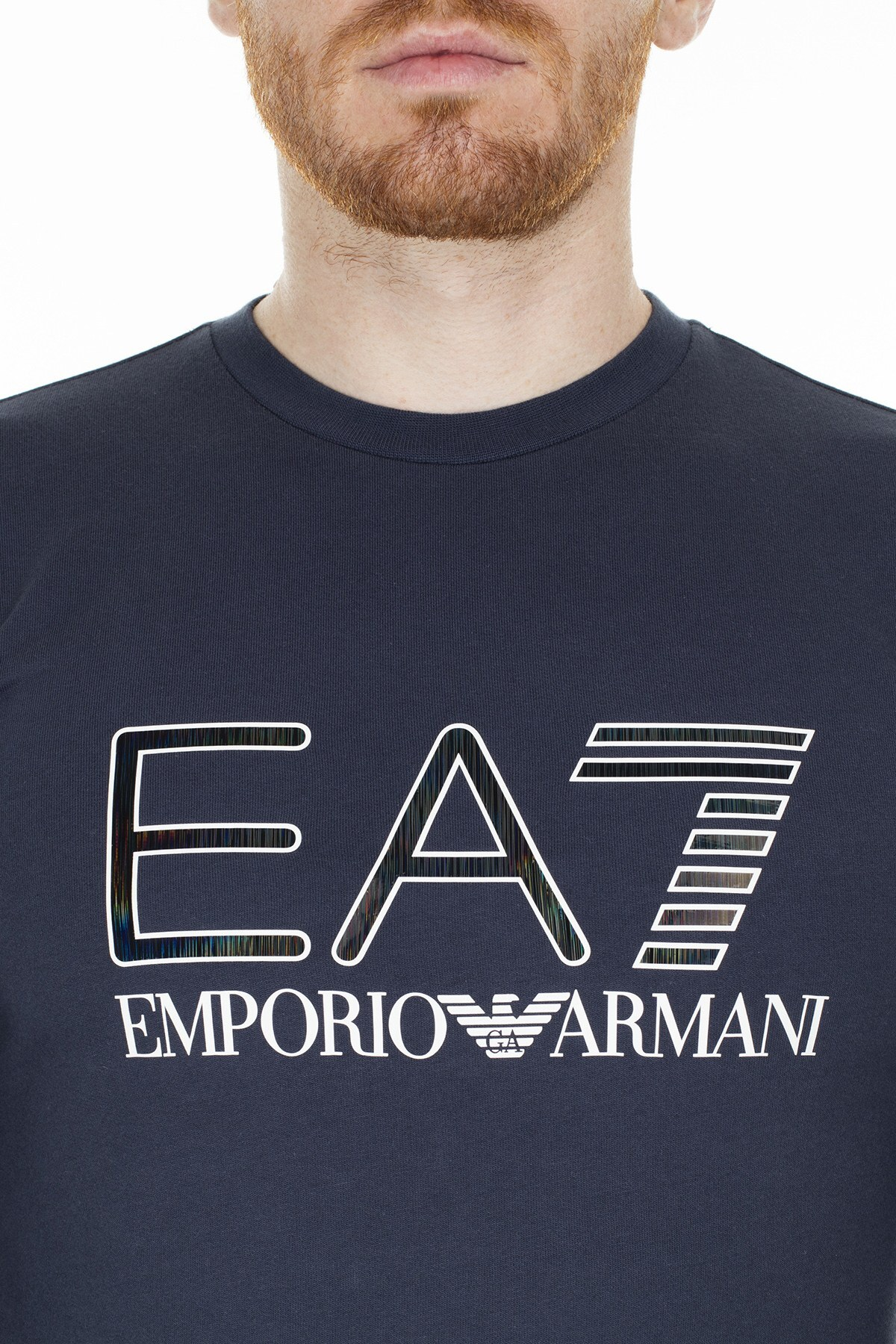 EA7 Erkek Sweat S 6GPM33 PJ05Z 1554 LACİVERT