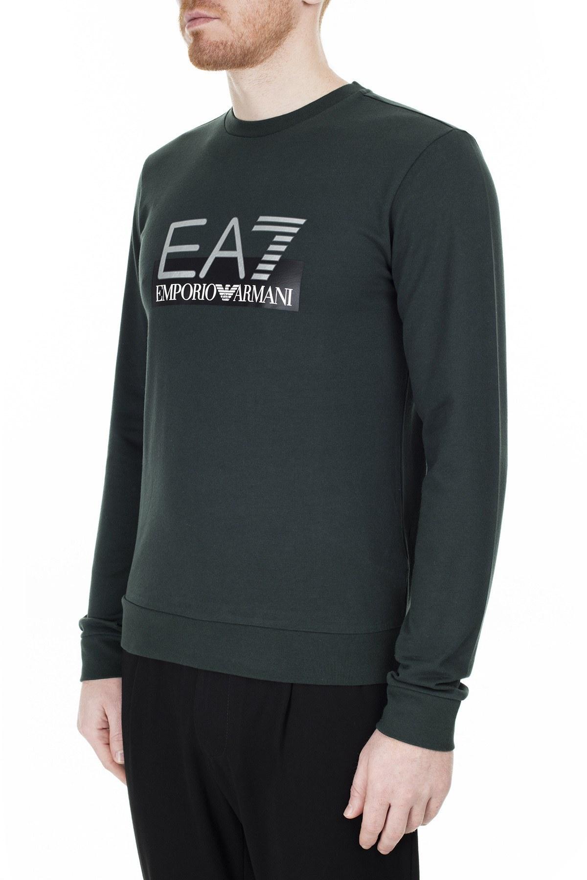 EA7 Erkek Sweat S 6GPM60 PJ05Z 1860 HAKİ