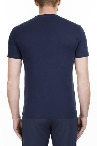EA7 - EA7 Erkek T Shirt 3GPT09 PJT7Z 1554 LACİVERT (1)