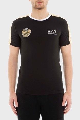 EA7 - EA7 Erkek T Shirt 3GPT34 PJL2Z 1200 SİYAH