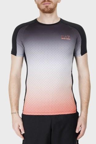 EA7 - EA7 Erkek T Shirt 3HPT18 PJ17Z 2601 Turuncu-Mor