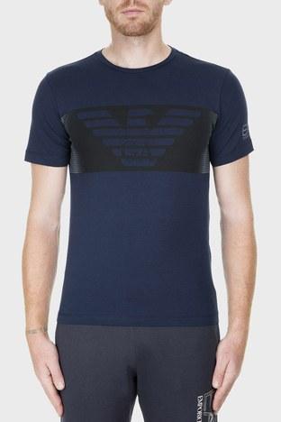 EA7 - EA7 Erkek T Shirt 6GPT56 PJQ9Z 1554 LACİVERT