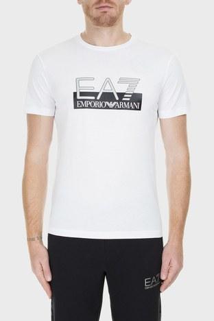 EA7 - EA7 Erkek T Shirt 6GPT81 PJM9Z 1100 BEYAZ