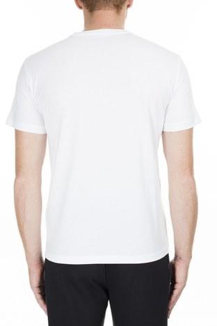 EA7 - EA7 Erkek T Shirt 6GPT81 PJM9Z 1100 BEYAZ (1)