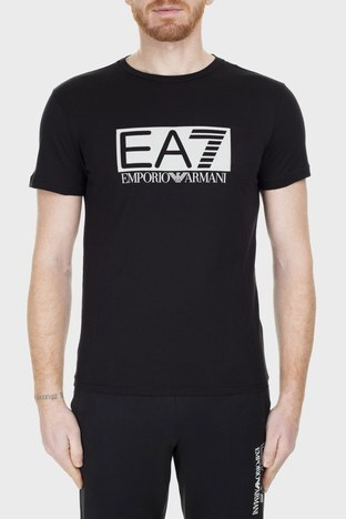 EA7 - EA7 Erkek T Shirt S 3GPT81 PJM9Z 1200 SİYAH