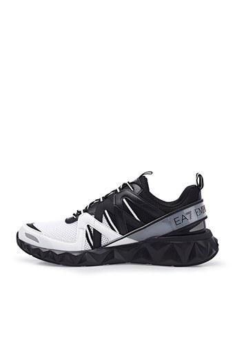 EA7 Marka Logolu Sneaker Unisex Ayakkabı X8X055 XK135 N349 SİYAH