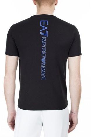 EA7 - EA7 Regular Fit Erkek T Shirt S 6GPT15 PJ02Z 1200 SİYAH (1)
