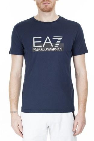 EA7 - EA7 Regular Fit Erkek T Shirt S 6GPT81 PJM9Z 1554 LACİVERT