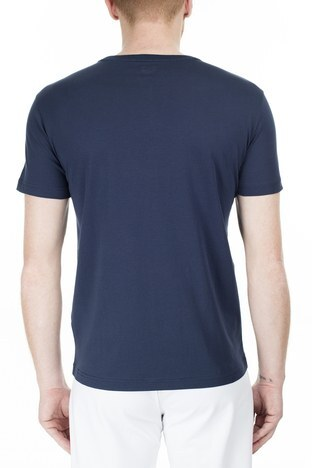 EA7 - EA7 Regular Fit Erkek T Shirt S 6GPT81 PJM9Z 1554 LACİVERT (1)