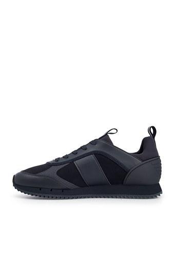 EA7 Erkek Ayakkabı X8X027 XK173 P962 SİYAH-LACİVERT