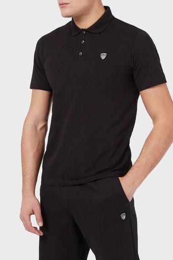 EA7 T Shirt Erkek Polo S 8NPF93 PJ03Z 1200 SİYAH