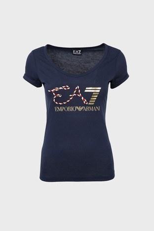 EA7 - EA7 T SHIRT Bayan T Shirt 3ZTT86 TJ52Z 1554 LACİVERT