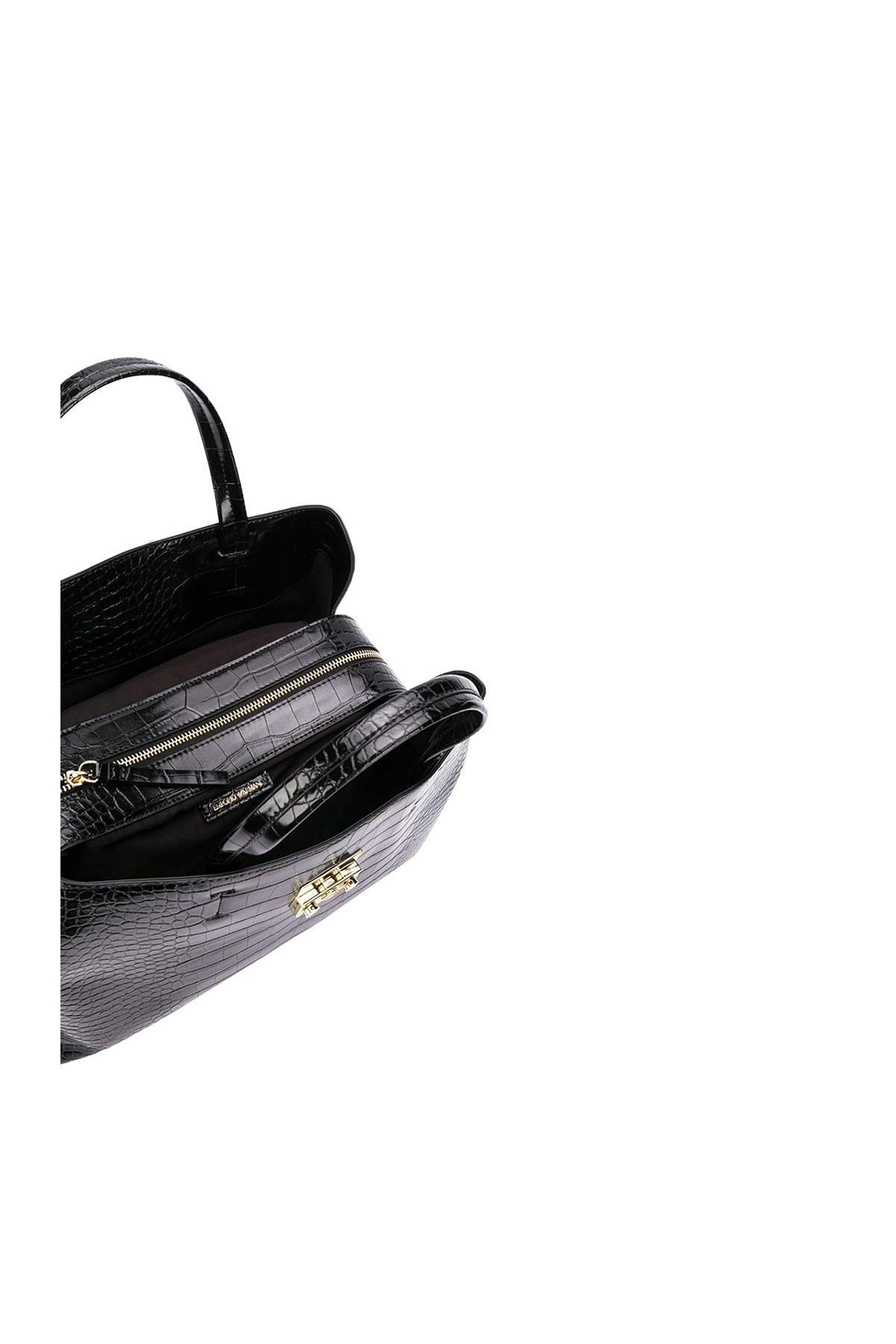 Emporio Armani Ayarlanabilir Askılı Kadın Çanta Y3A126 YFX2B 80001 SİYAH