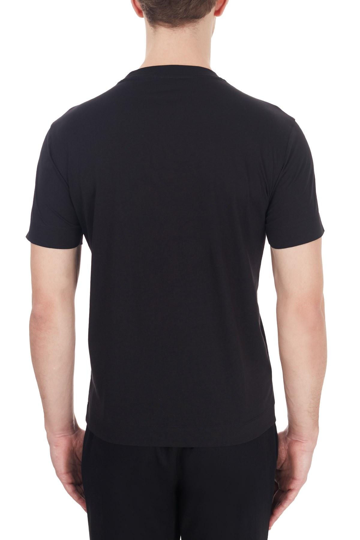 Emporio Armani Erkek T Shirt 6H1TA3 1JDXZ 0014 SİYAH
