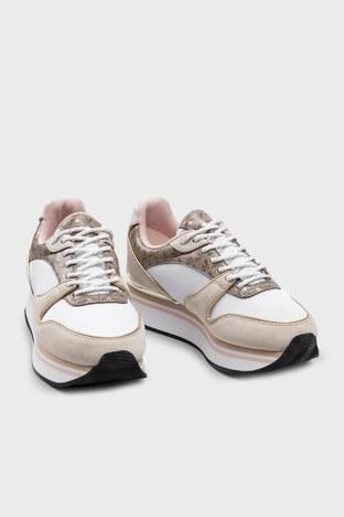 Emporio Armani - Emporio Armani Bayan Ayakkabı X3X046 XM697 R918 BEJ-BEYAZ (1)