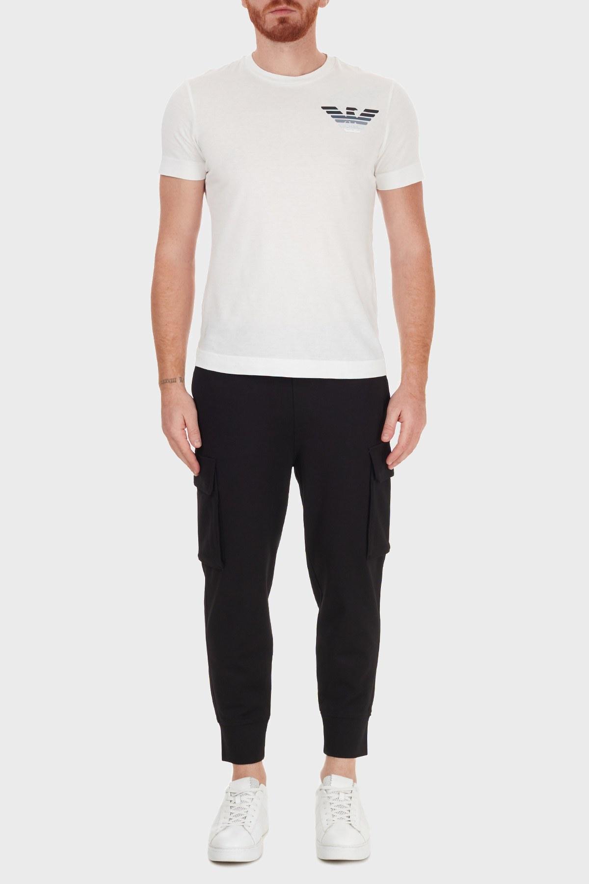 Emporio Armani Belden Bağlamalı Cepli Erkek Pantolon 6H1PM7 1JDRZ 0999 SİYAH