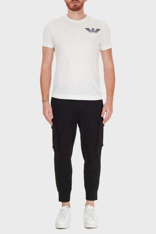 Emporio Armani - Emporio Armani Belden Bağlamalı Cepli Erkek Pantolon 6H1PM7 1JDRZ 0999 SİYAH
